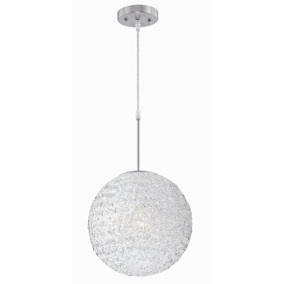 Lite Source 1 Light Globe Pendant