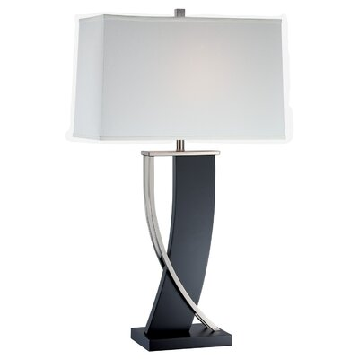 "Lite Source Estella 31"" H Table Lamp with Rectangle Shade"