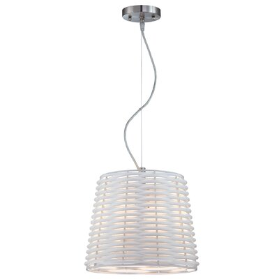 Lite Source 1 Light Drum Pendant