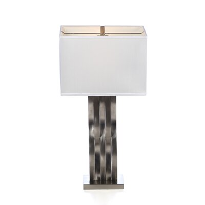 "Lite Source Hamo 30"" H Table Lamp with Rectangle Shade"