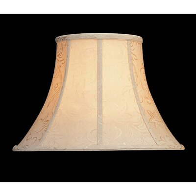 Lite Source Woven Jacquard Lamp Shade in Creme