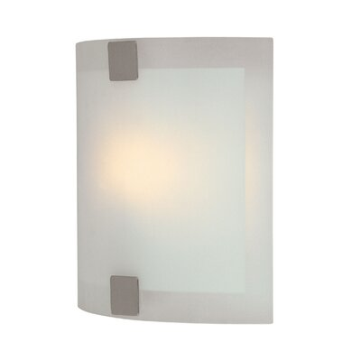 Lite Source Checks Wall Sconce