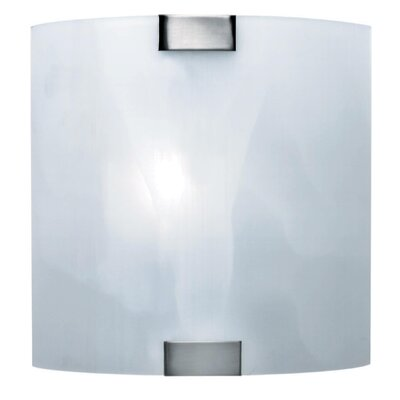 Lite Source Nimbus  Wall Sconce in Cloud Glass
