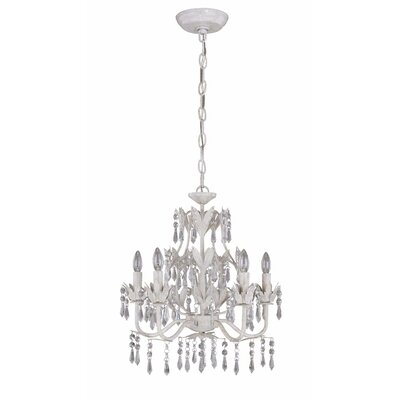 Evelyn 5 Light Crystal Chandelier