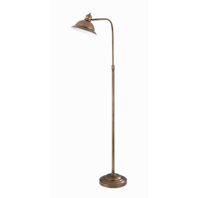 Lite Source Minuteman Adjustable Metal Floor Lamp