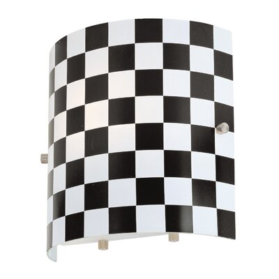Lite Source Checker Wall Sconce