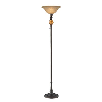 Lite Source Nisha  Torchiere Lamp in Aged Bronze