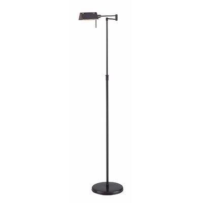 Lite Source Halogen Swing Arm Wall Lamp in Dark Bronze