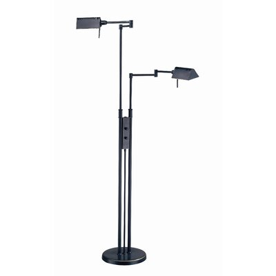Lite Source Pharma Collection Twin Arm Floor Lamp