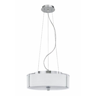 Lite Source Speranza 1 Light Drum Pendant