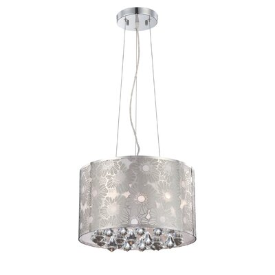 Lite Source 5 Light Drum Pendant