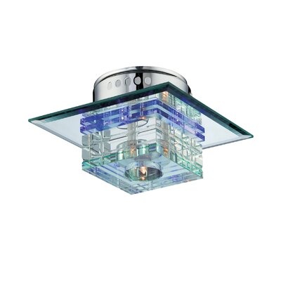 Lite Source Quotom 4 Light Flush Mount