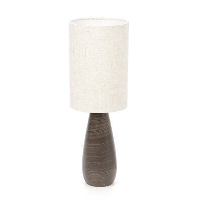 "Lite Source Quatro Mini 17.5"" H Table Lamp with Drum Shade"