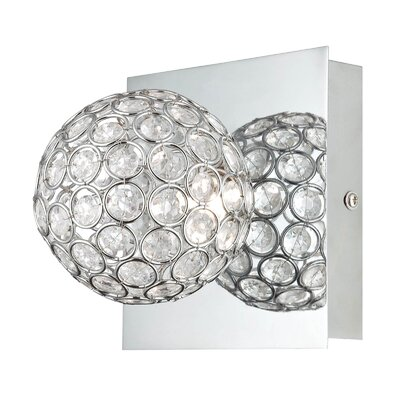 Lite Source Orsino 1 Light Wall Lamp