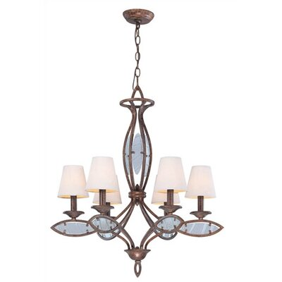Lite Source Damaris 6 Light Chandelier