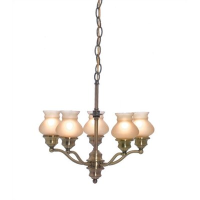 Lite Source Susie 5 Light Chandelier