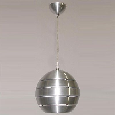 1 Light Globe Pendant