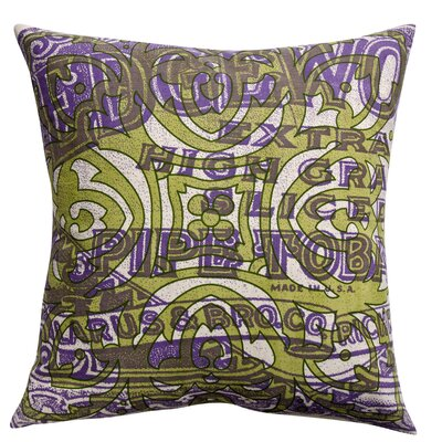 Koko Company Press Cotton Print Edgeworth Pipe and Tile Pillow