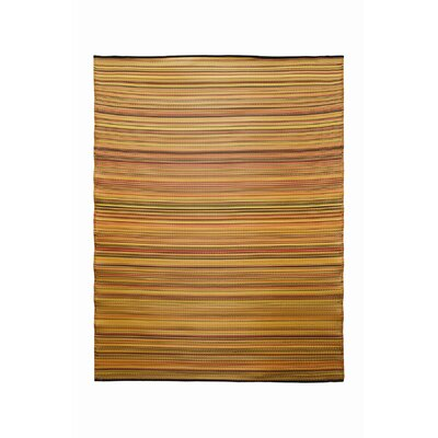 Melange Ginger Orange Outdoor Rug
