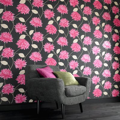Graham & Brown Serenity Romance Floral Botanical Wallpaper