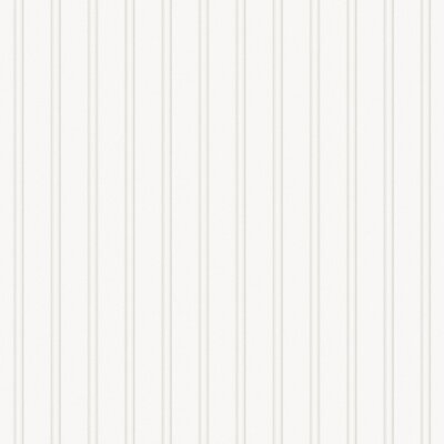 Graham & Brown Paintable Prepasted Beadboard Stripes Texture Wallpaper