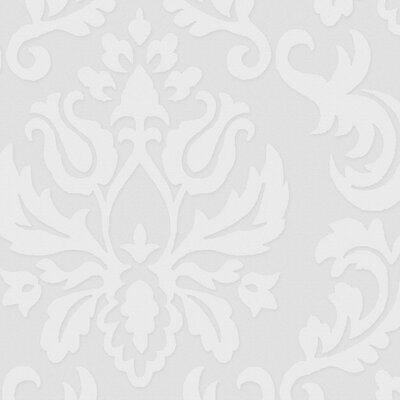 Graham & Brown Paintable Damask Wallpaper