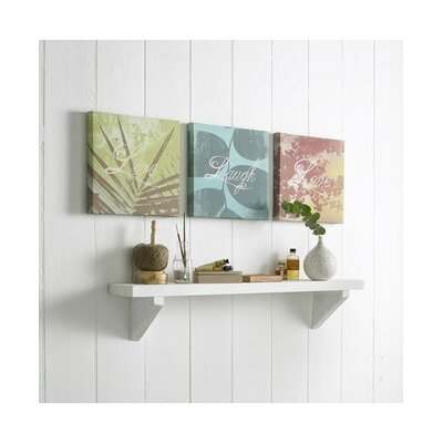 Graham & Brown Words 3 Piece Painting Print on Canvas Set