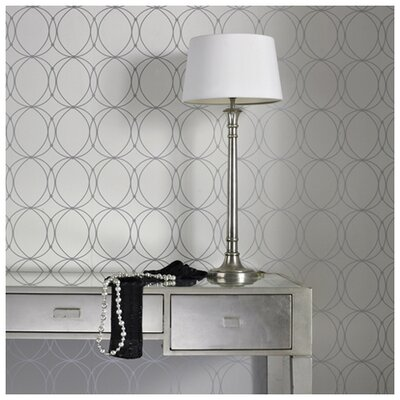 Graham & Brown Darcy Pearl Geometric Wallpaper