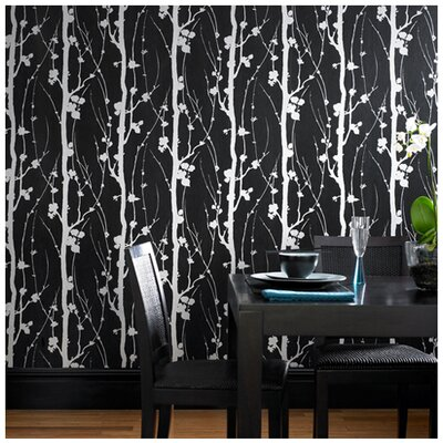 Graham & Brown Superfresco Solitude Floral Botanical Embossed Foiled Wallpaper