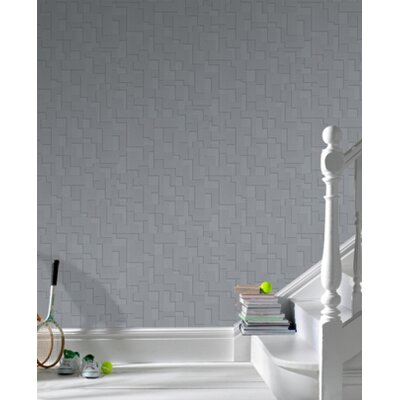 Graham & Brown Shape and Form Checker Wallpaper