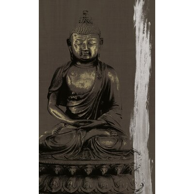 Graham and Brown Zen Painting Print on Canvas