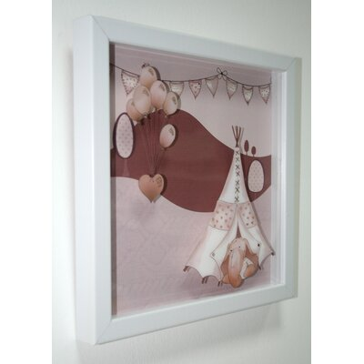 Graham & Brown Eleflump Layered Framed Print