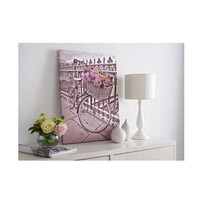 Bicycle Graphic Art on Canvas