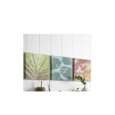 Graham & Brown Words Canvas Wall Art (Set of 3)