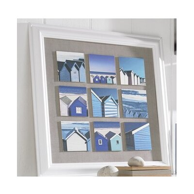 Graham & Brown Beach Scene Framed Art