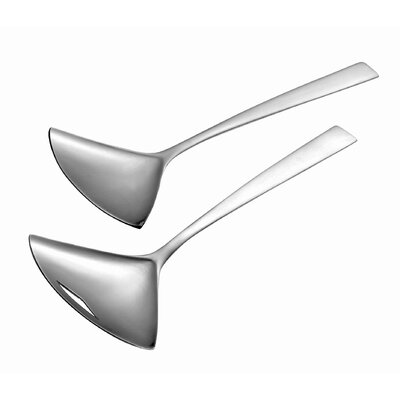 Carl Mertens Carl Mertens Gingko Satin Salad Servers