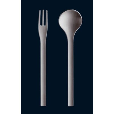 Carl Mertens Axel Wowereit Mano Satin Spaghetti Spoon and Fork Set