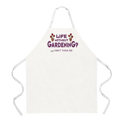 Attitude Aprons by L.A. Imprints Life without Gardening Apron