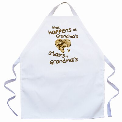 Attitude Aprons by L.A. Imprints Stays at Grandma's Apron in Natural