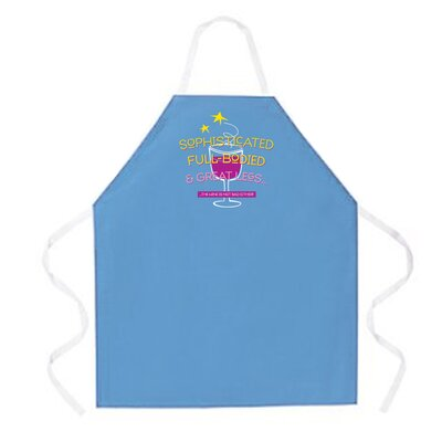 Attitude Aprons by L.A. Imprints Sophisticated Apron in Colombia Blue