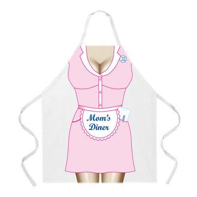 Attitude Aprons by L.A. Imprints Mom's Diner Apron
