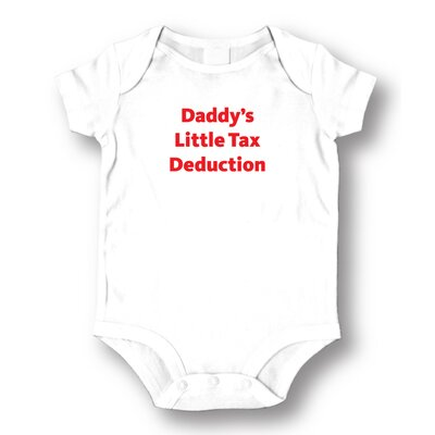 Attitude Aprons by L.A. Imprints Tax Deduction Baby Romper