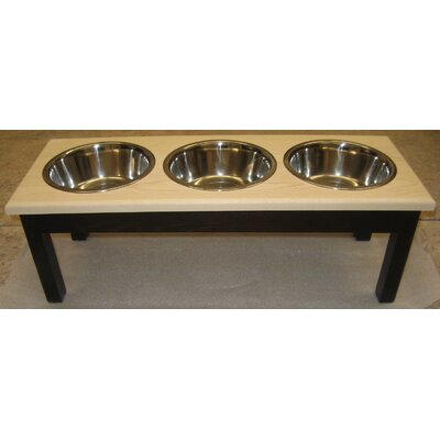 Classic Pet Beds 3 Bowl Pet Diner