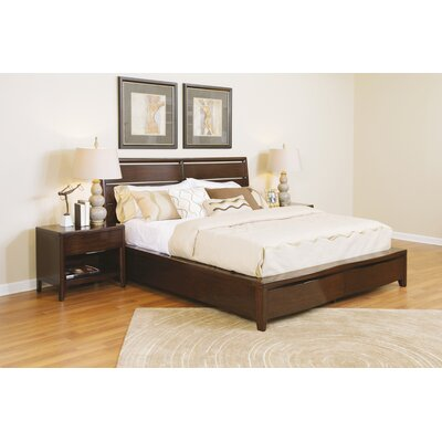 Pulaski Furniture Tangerine Storage Panel Bed