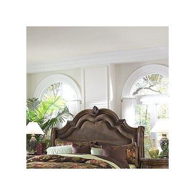 pulaski furniture san mateo wingback bedroom collection