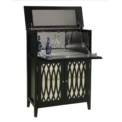 Pulaski Furniture Modern Mojo 1 Drawer Wine Chest