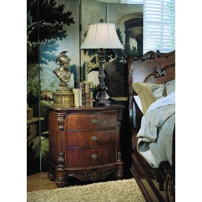 Pulaski Furniture Edwardian 3 Drawer Nightstand