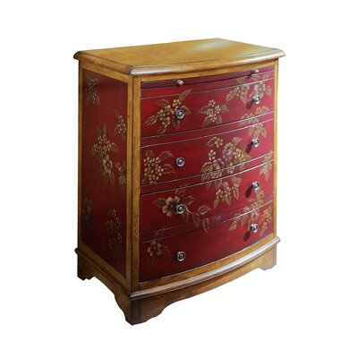 <strong>Pulaski Furniture</strong> Artistic Expression Hand Painted 4 Drawer Accent Chest