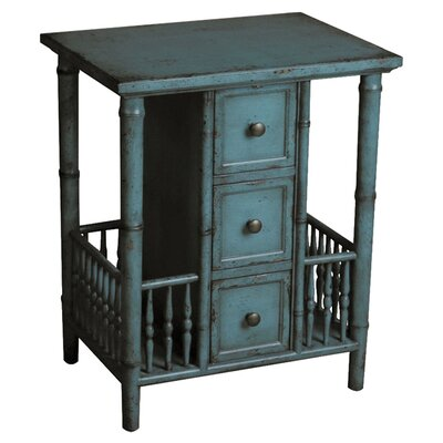 <strong>Pulaski Furniture</strong> 3 Drawer End Table