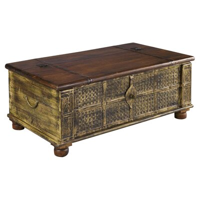 Decorative trunks wayfair buy decorative trunks online Trunk coffee table